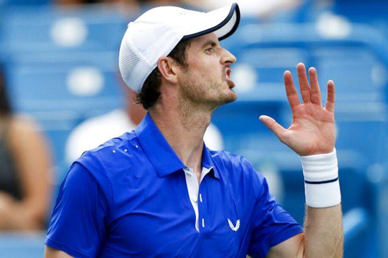 Luego de operarse de la cadera en enero pasado, Andy Murray está en el proceso reinserción en el circuito mayor