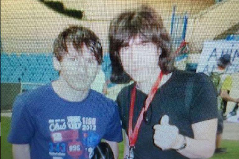 La desconocida foto que muestra el lado más rockero de Lionel Messi