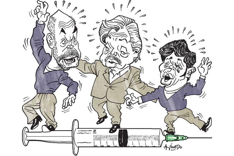 Alberto Fernández, de regreso: vuelve a Larreta y vuelve a Pfizer