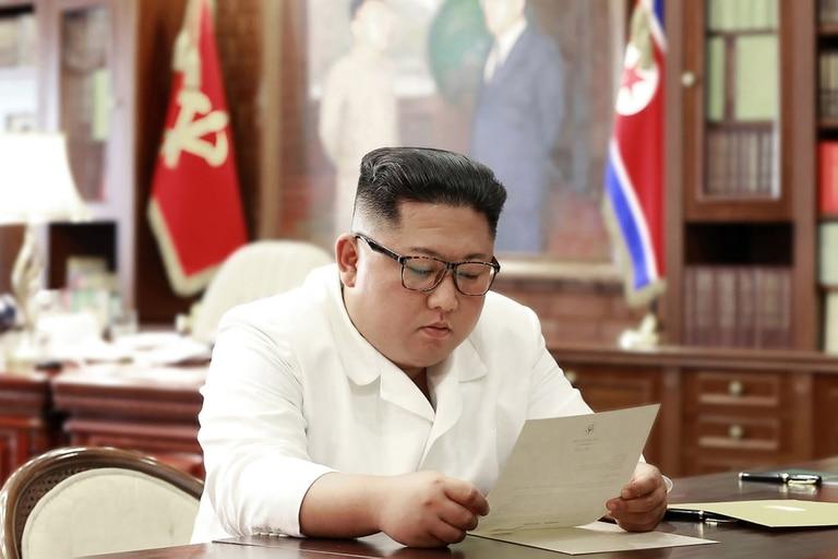 El máximo líder de la República Popular Democrática de Corea (RPDC), Kim Jong Un