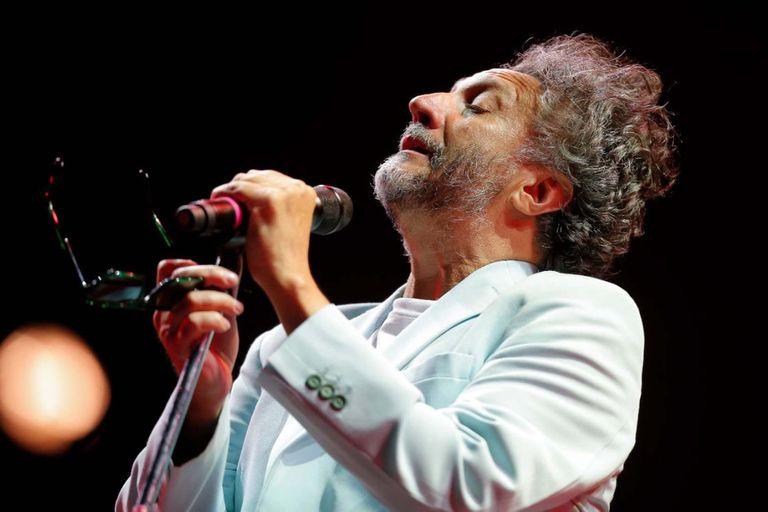 Fito Páez, entusiasmado y agradecido, debutó en Cosquín Folklore