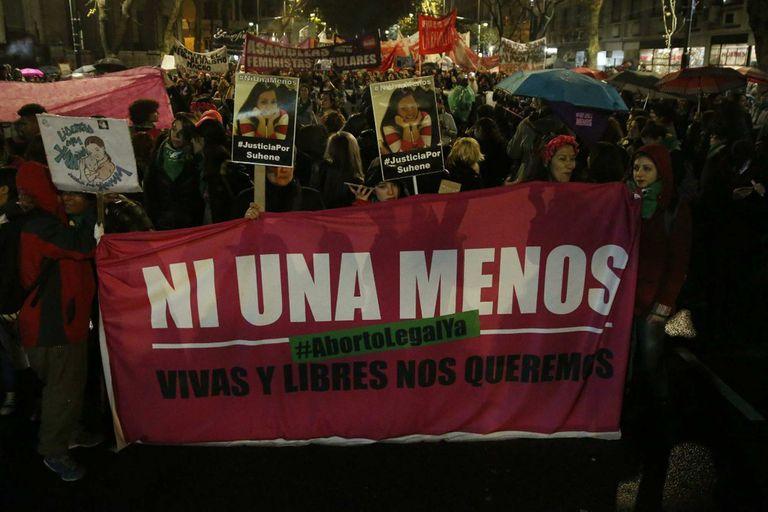 Hoy 3 de junio las mujeres marchan bajo la consigna Ni una menos