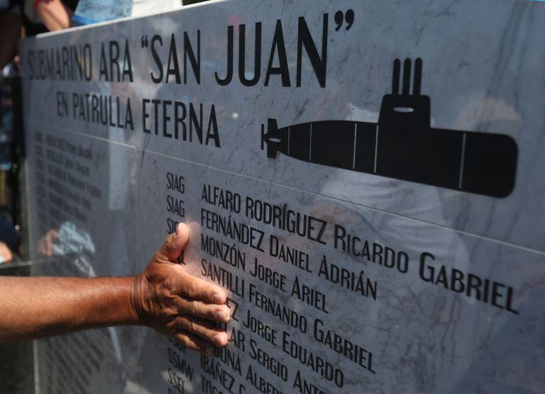 Inauguraron una réplica del submarino ARA San Juan en homenaje a sus 44 tripulantes fallecidos