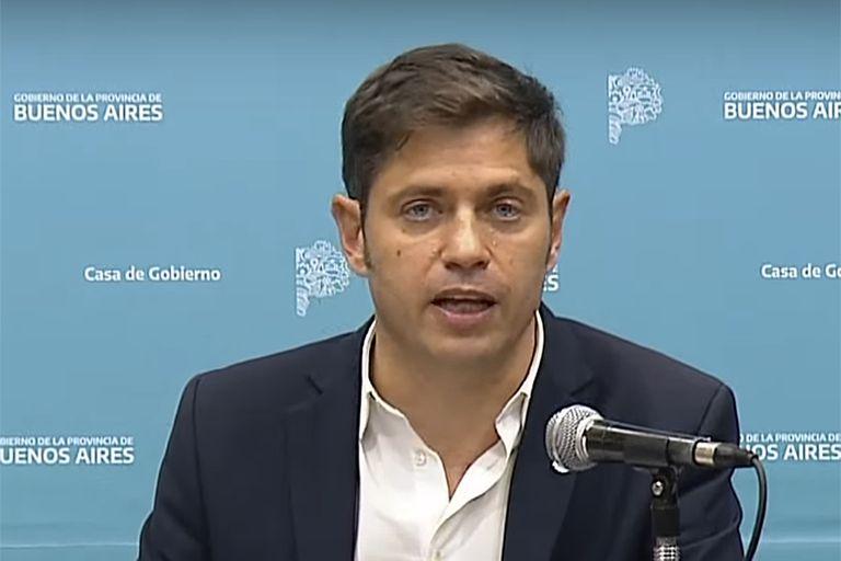 La conferencia de prensa de Axel Kicillof