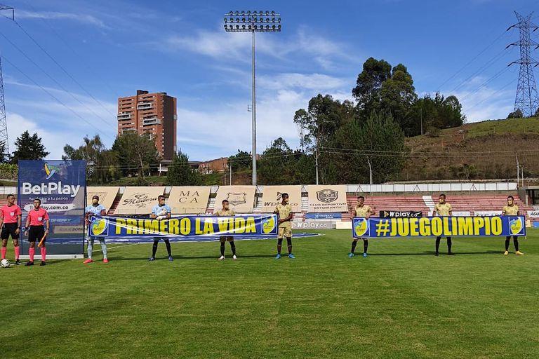 Águilas Doradas se presentó a jugar con 7 jugadores frente a Bocayá Chico debido a casos de Covid-19