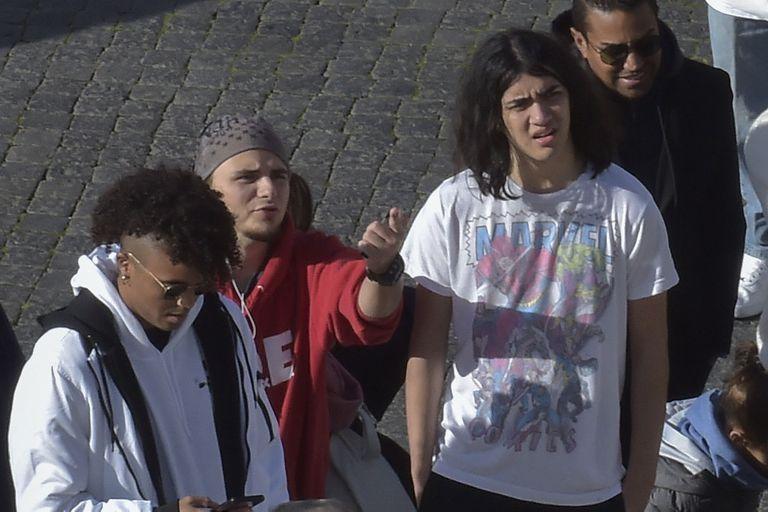 Los hijos de Michael Jackson, de vacaciones en Roma