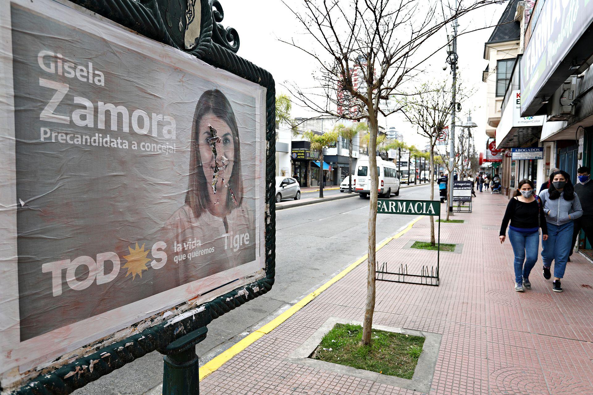 En Tigre, Gisela Zamora, esposa del intendente, fue derrotada por Juntos