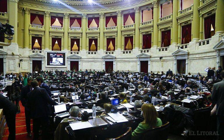 La Cámara de Diputados trataría la próxima semana el proyecto sobre deuda externa que envía el Gobierno