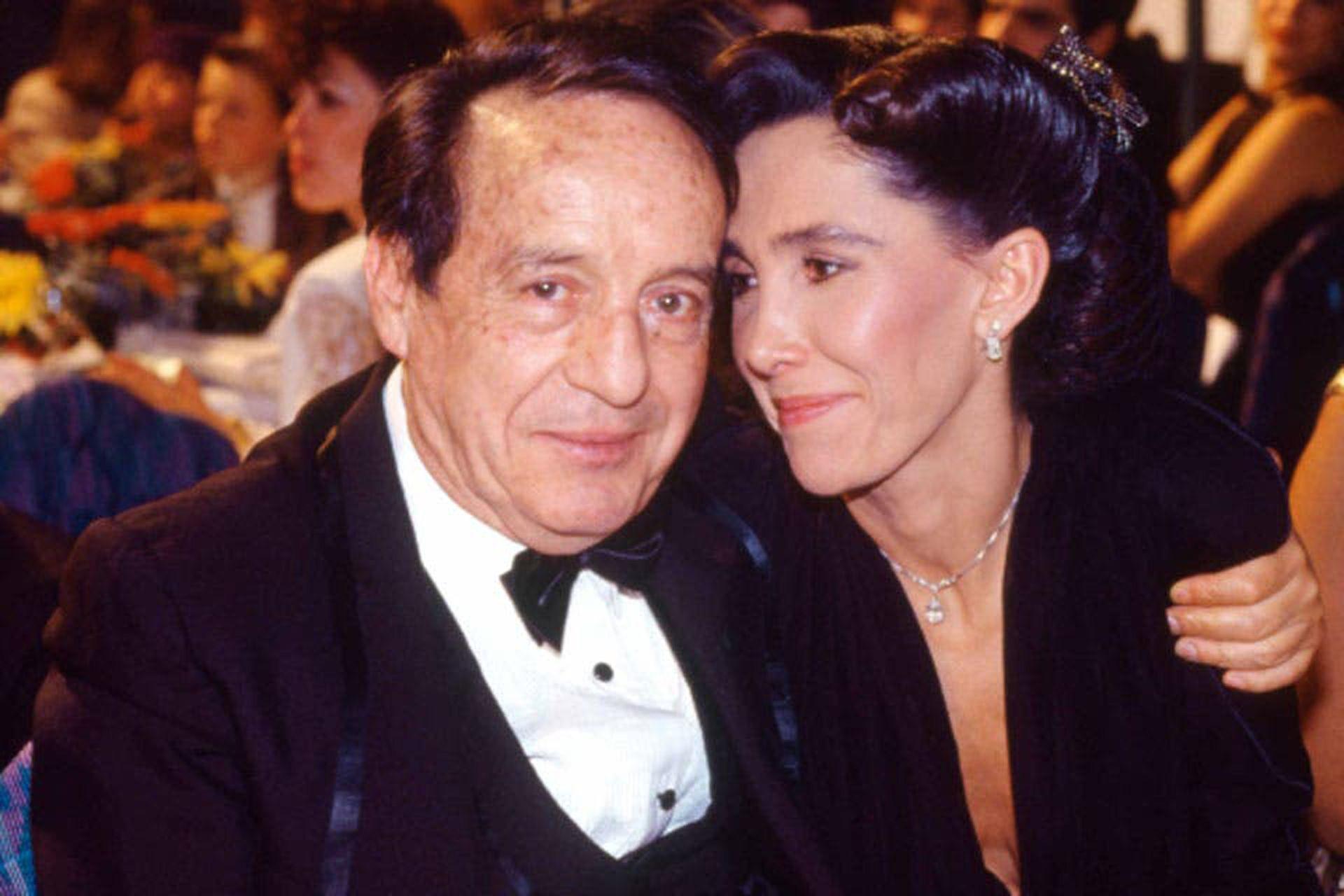 Bolaños y Florinda Meza, un amor que comenzó en el set y duró muchos años más