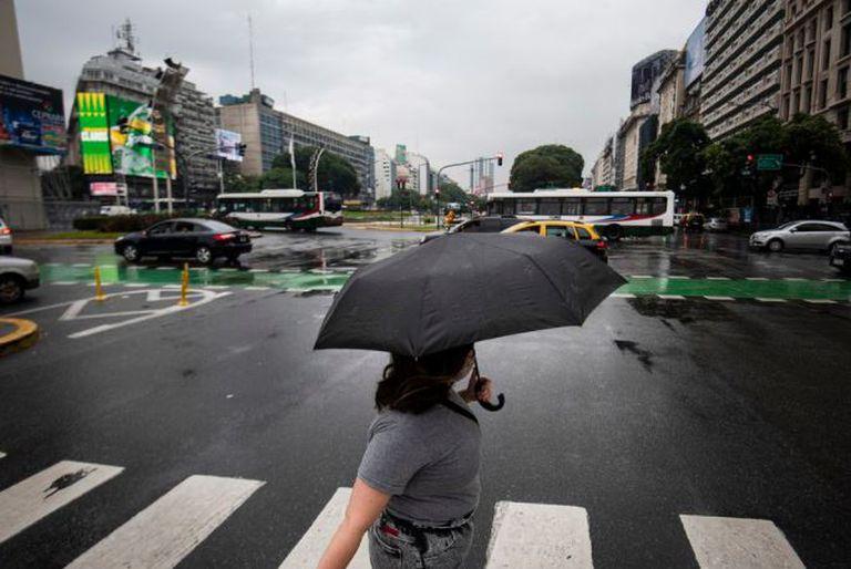 Alerta meteorológica en la Ciudad y en la provincia de Buenos Aires por tormentas fuertes