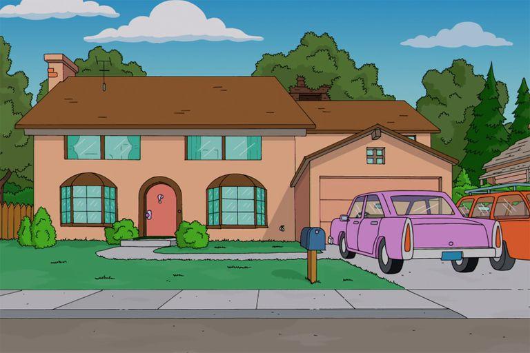 La casa de Los Simpson: cómo sería el diseño si no estuviese en Springfield