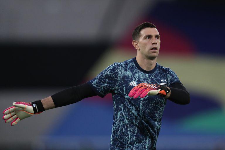 Emiliano Martínez dialogó con la prensa en la previa del segundo partido de la ronda de grupos que el seleccionado argentino deberá afrontar por la Copa América ante Uruguay