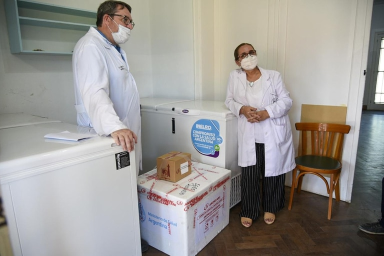 Cada provincia dispuso freezers para almacenar las vacunas