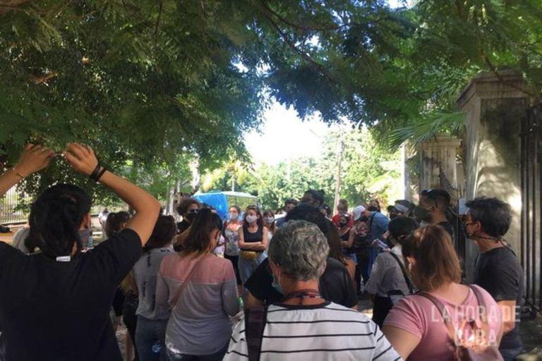 El régimen dejó claro que la libertad de expresión debe ser contenida en nombre de la revolución