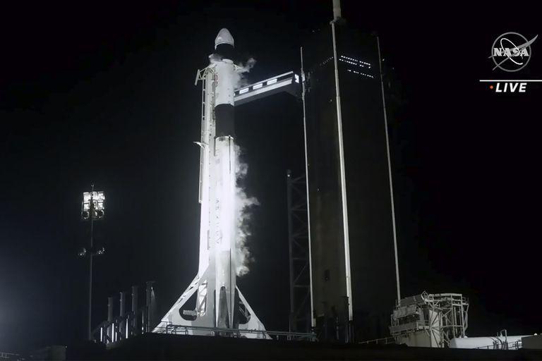 El cohete SpaceX Falcon 9, una de las joyas tecnológicas que intentan conquistar la Luna