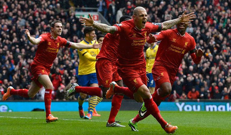 Liverpool destruyó al Arsenal y lo bajó de la punta