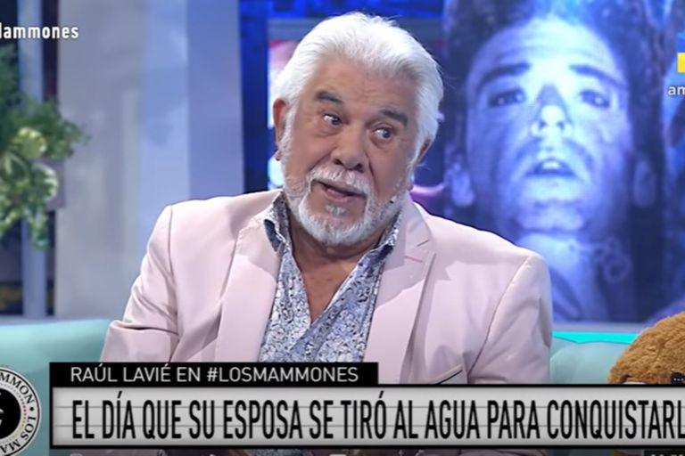 """Raúl Lavié reveló el insólito episodio en el que conoció a su esposa: """"Yo la miraba y me reía"""""""