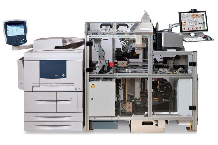 Una Espresso Book Machine de Xerox