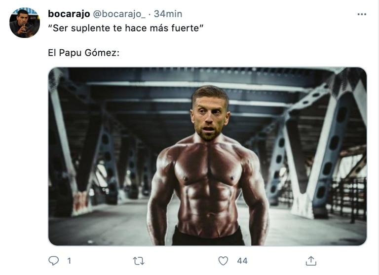 Los mejores memes por la posible titularidad del Papu Gómez en reemplazo de Messi