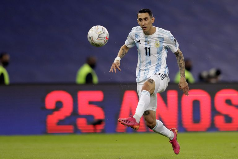 Ángel Di María marcó el gol para la selección argentina: cómo relataron el único tanto de la noche en la TV de Brasil