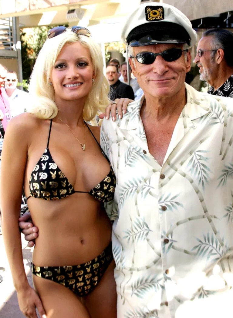 Holly Madison junto a Hugh Hefner (Rex Features)