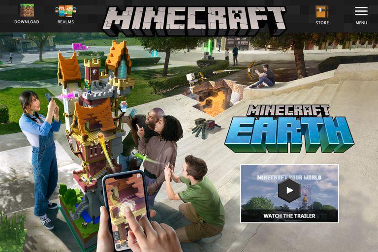 Minecraft Earth: el videojuego con el que Microsoft busca su propio Pokémon Go