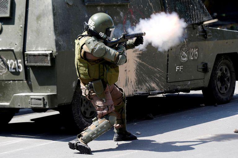 Ayer, el presidente Sebastián Piñera fue acusado y responsabilizado por la represión en el país