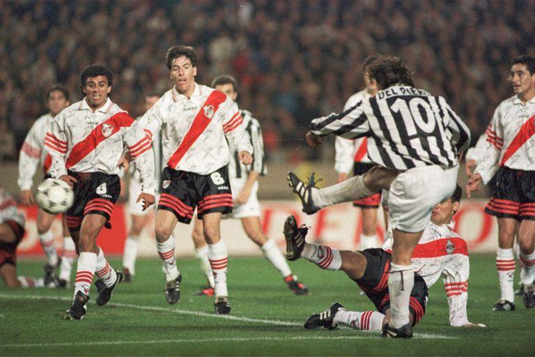 El gol de Del Piero con el que Juventus le ganó a River 1-0 en Japón, en 1996