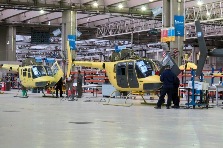 La Fábrica Militar de Aviones refuncionaliza ocho helicópteros