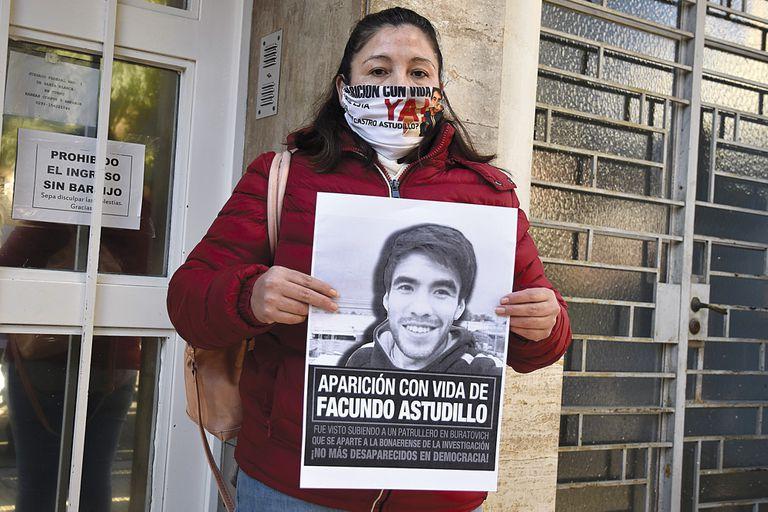 Cristina Castro, la madre de Facundo Astudillo Castro, consiguió esta semana el apoyo presidencial
