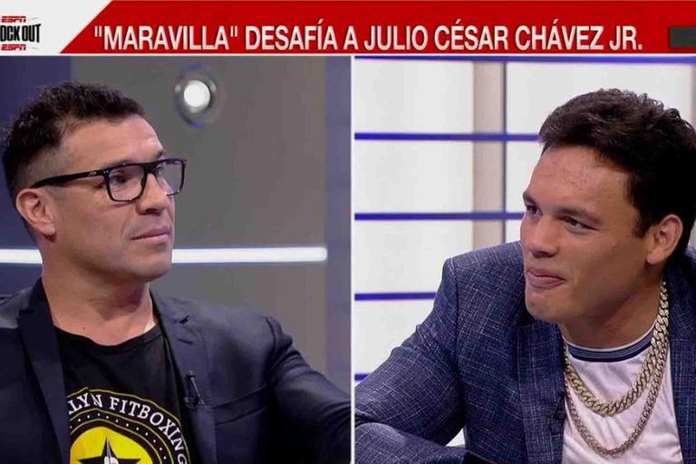 Maravilla Martínez y Chávez Jr., entre recuerdos y la fecha de la revancha