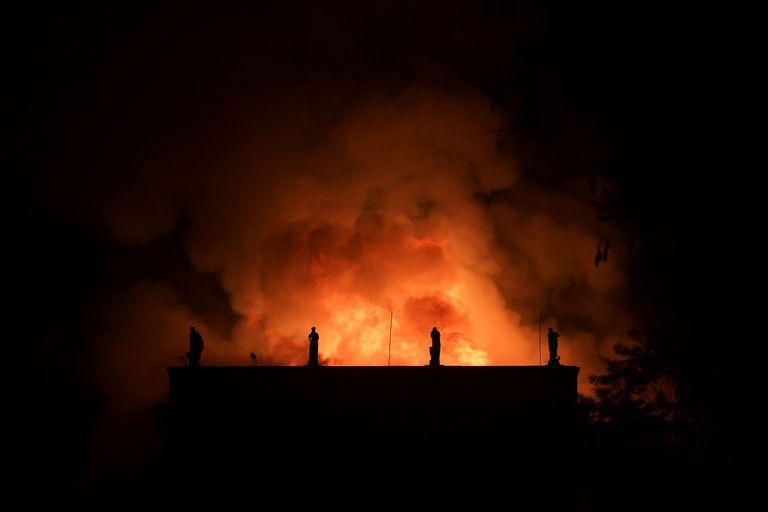 El incendio en el Museo Nacional de Río de Janeiro, en Brasil generó la pérdida de millones de obras