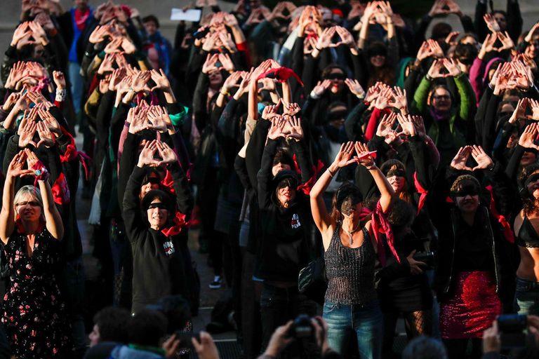 Las jóvenes chilenas de LASTESIS, artistas del año según la revista Time