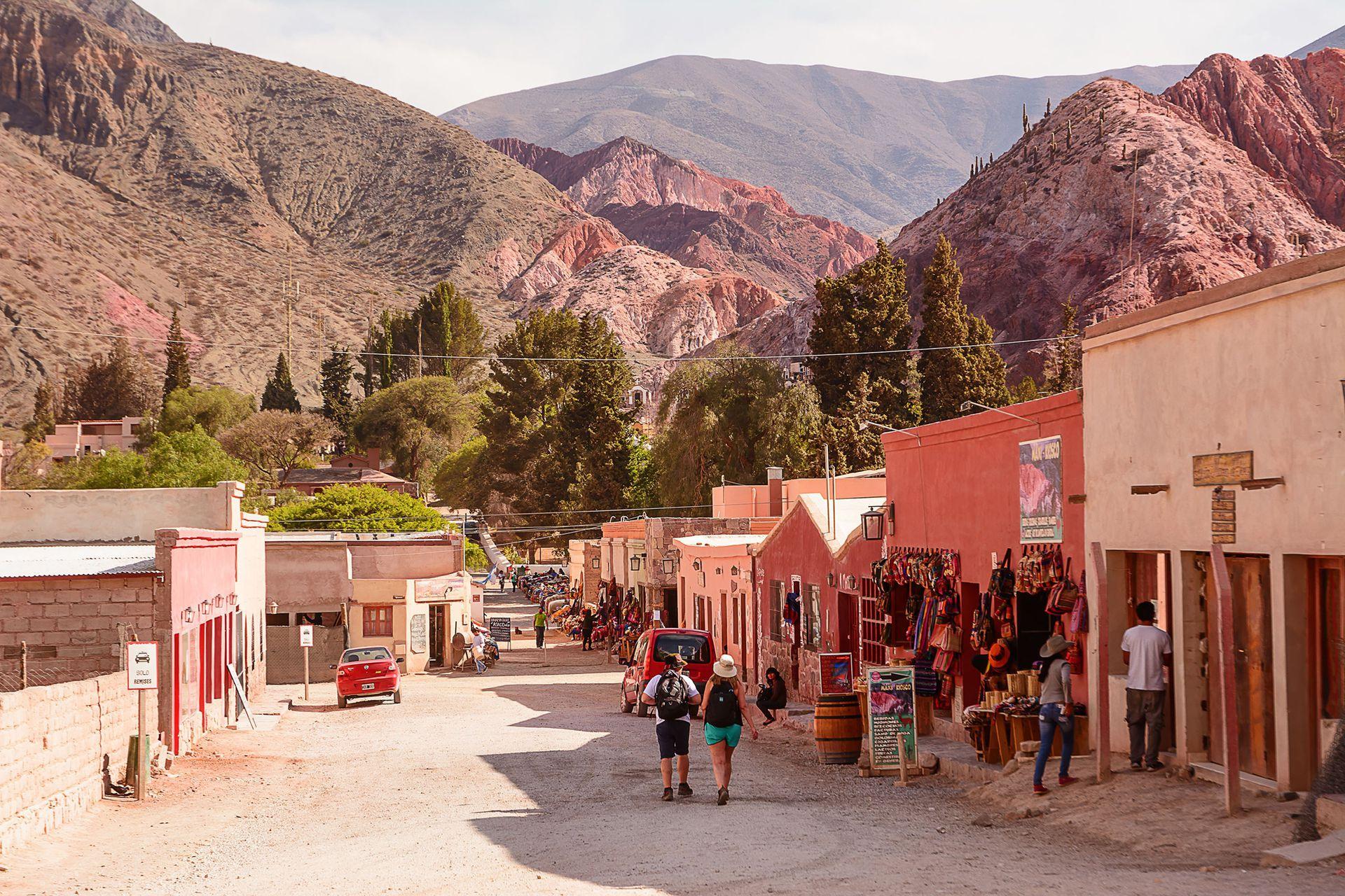 Purmamarca, uno de los destinos elegidos en el Norte
