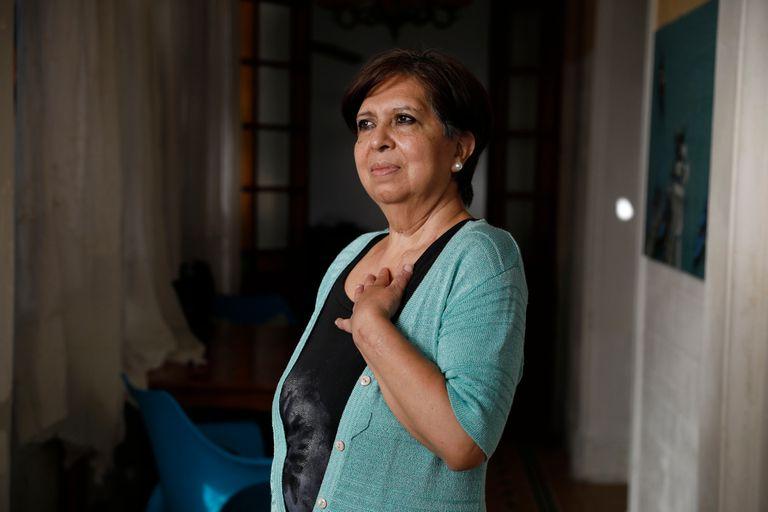 Olga Diaz sufrio un intento de femicidio y le gano un juicio al Estado, por no haber atendido sus denuncias.