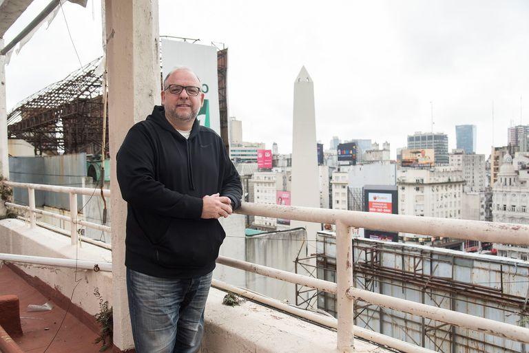 Diego Sethson, bisnieto del constructor del chalet