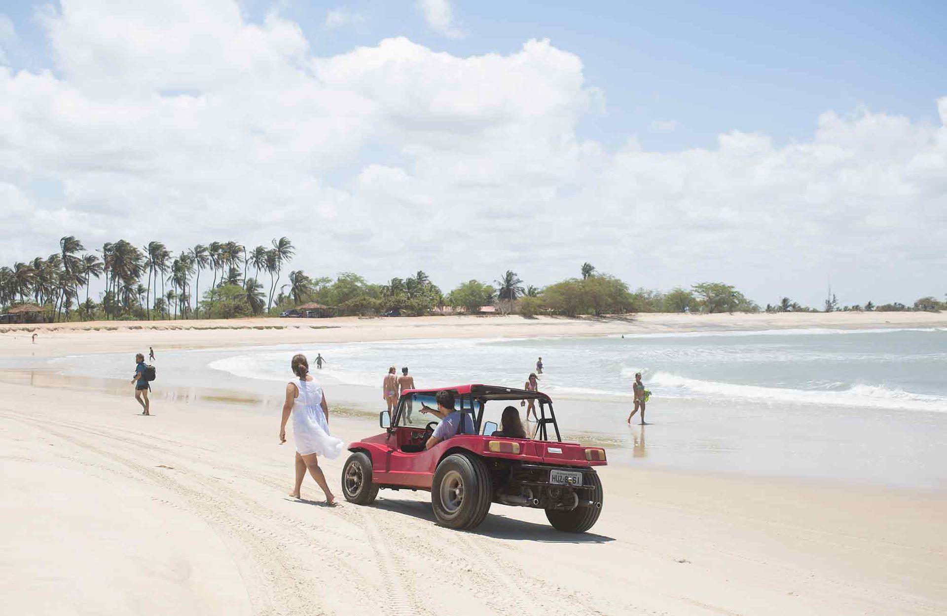 Un paseo en buggy por las arenas de San Miguel do Gostoso.