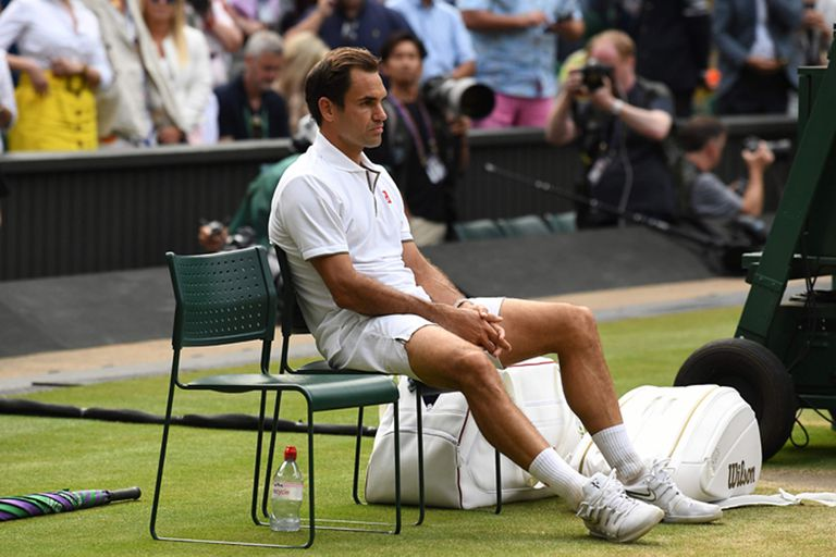 Federer: cómo procesa el golpe de Wimbledon y prepara el regreso a Argentina