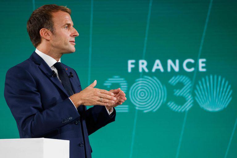 El megaplán estratégico de Macron para reconvertir la economía francesa en diez años