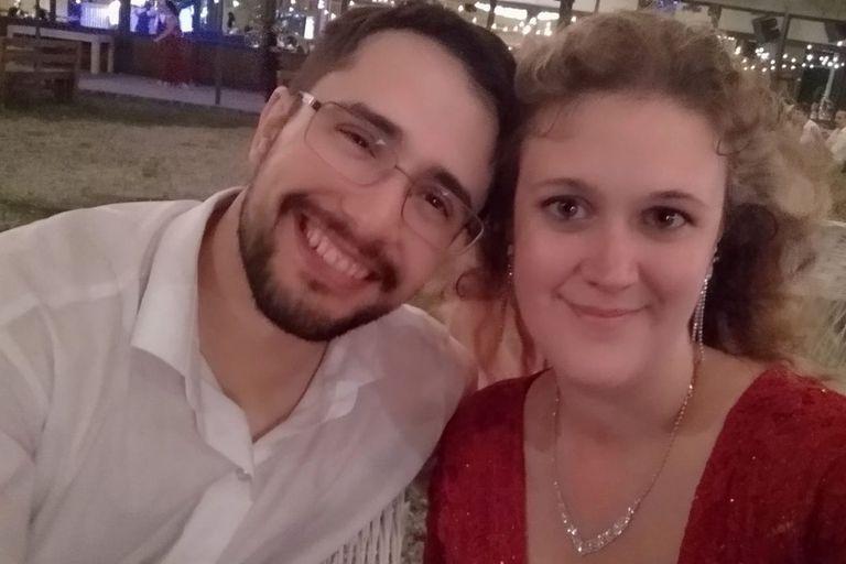 Gabriela Quevedo y Mariano Cassini habían ido al mismo colegio, pero no se conocían.