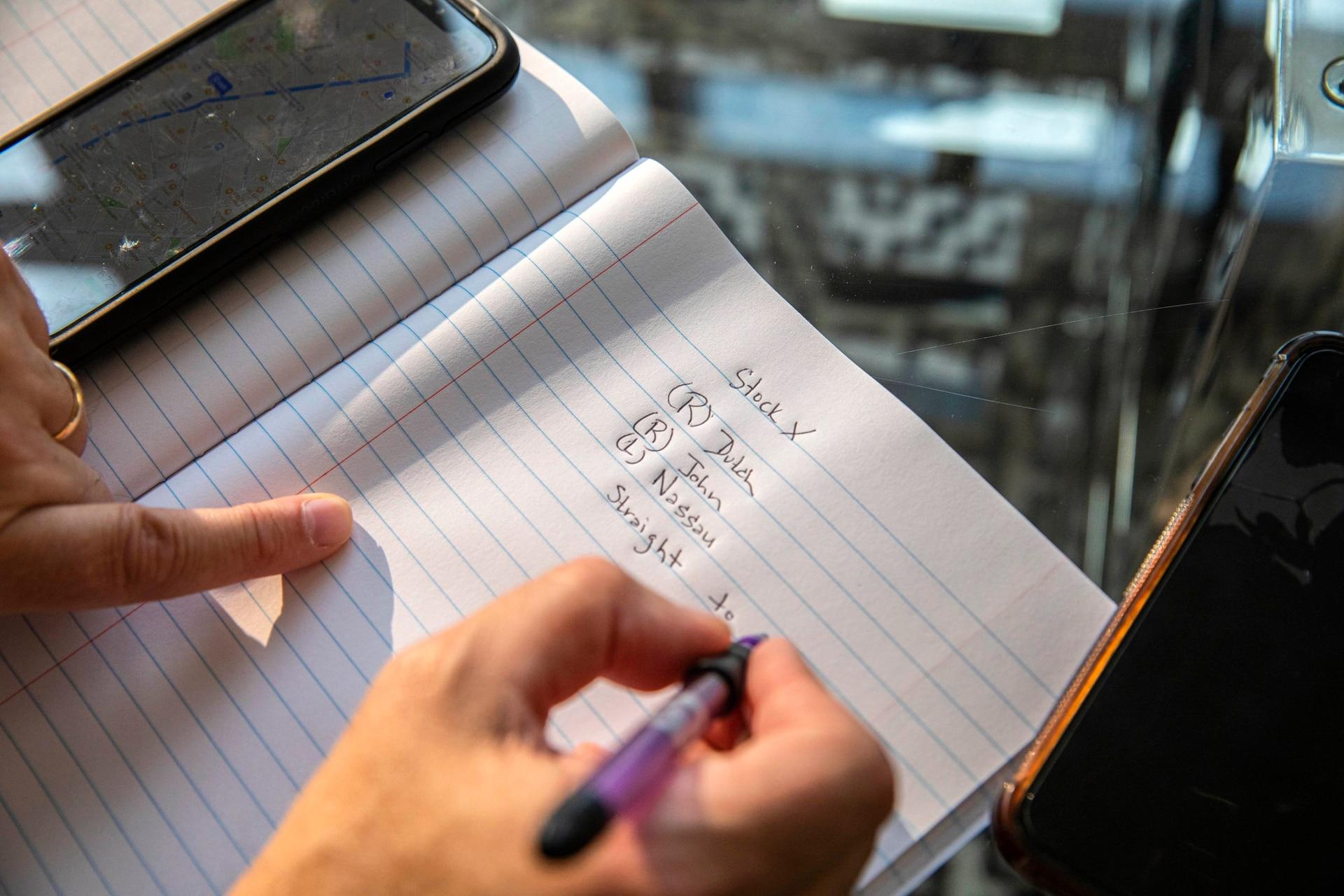 Escribir notas es uno de los ejercicios que ayuda a recuperar la memoria, que puede verse afectada por la continuación de Govit-19