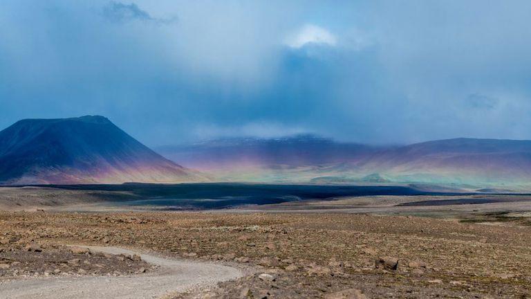 Okjokull yacía en la cima del volcán Ok, al noreste de la capital islandesa de Reikiavik.