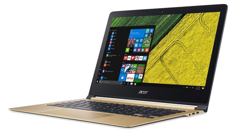 Una Acer Swift 7, con pantalla de 13,3 pulgadas