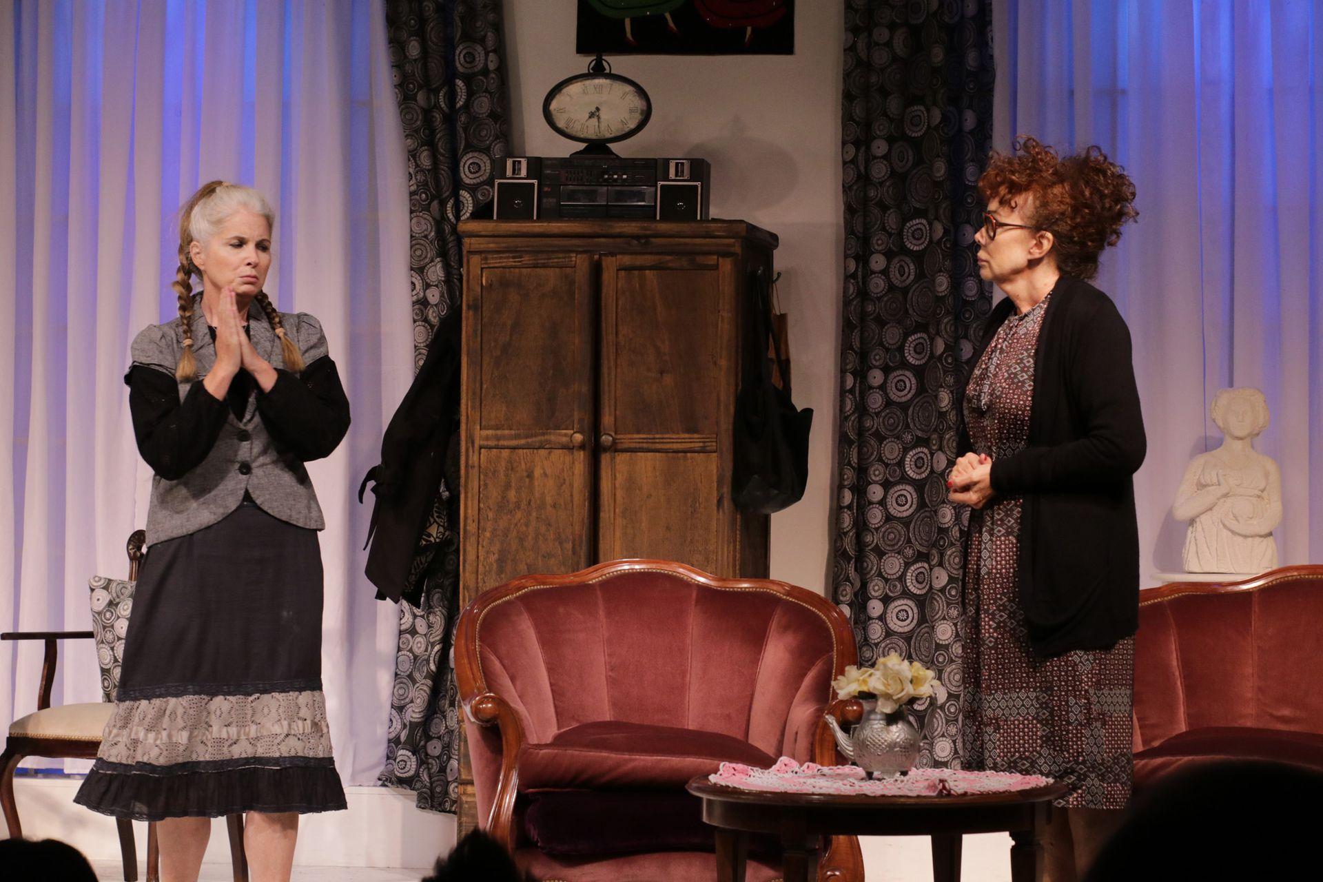Radojka, con Cecilia Dopazo y Patricia Palmer