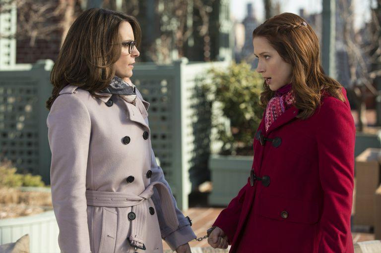 Tina Fey y Ellie Kemper en una escena de Unbreakable Kimmy Schmidt