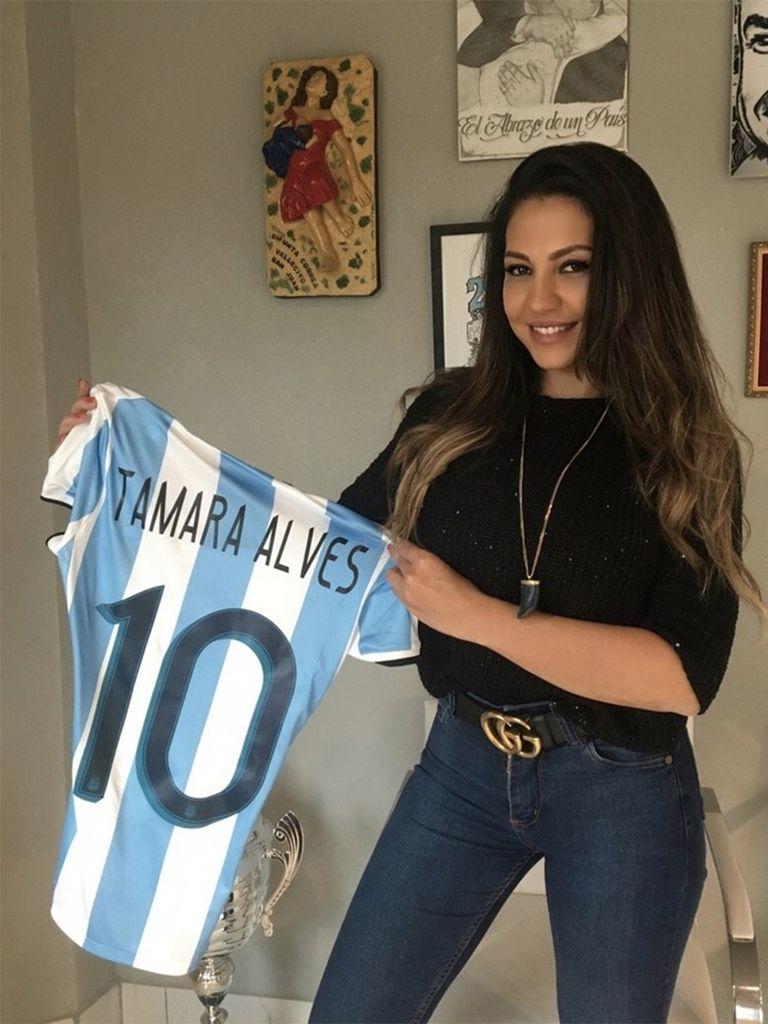 Tamara Alves, una brasilera con el corazón en la Argentina