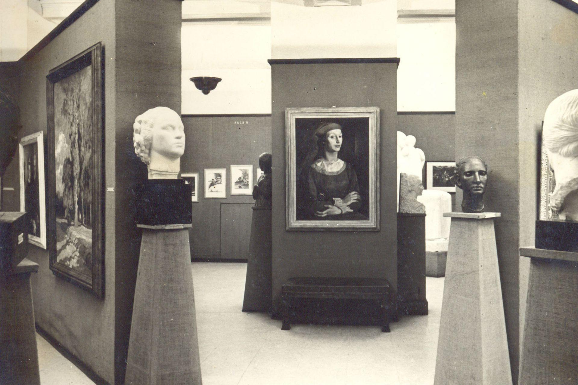 Imagen histórica del Museo Sívori