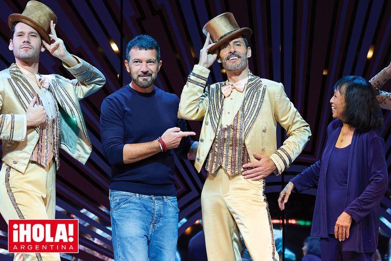 Los argentinos que estuvieron en el estreno del musical A Chorus Line producido por Antonio Banderas