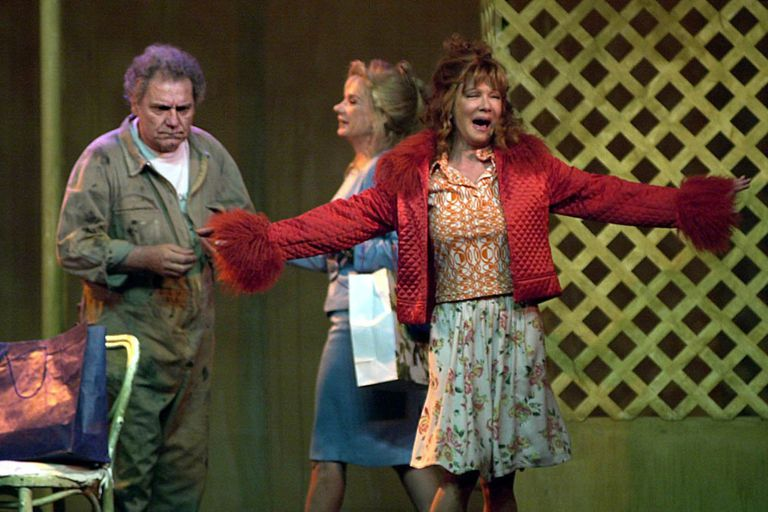 Made in Lanús, en plena temporada 2003 en Mar del Plata. Esta vez, el gran actor junto a Soledad Silveyra y Ana María Picchio.
