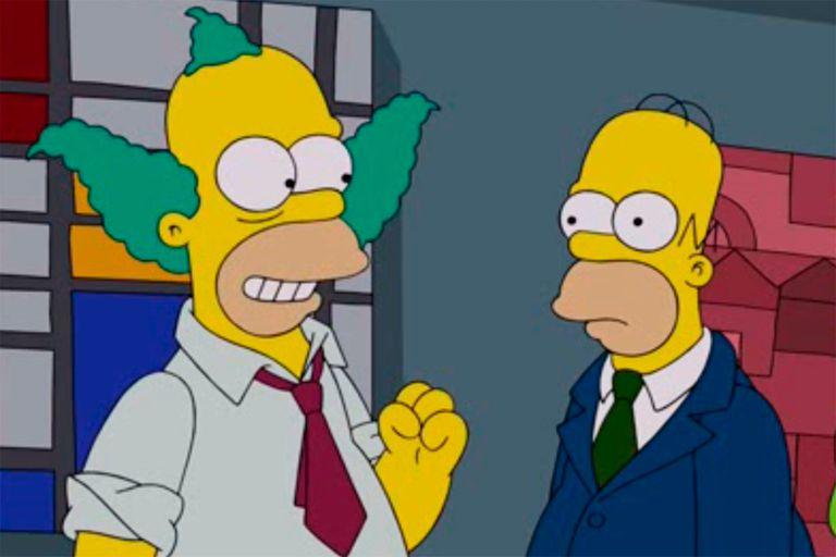 """Los Simpson: Matt Groening reveló por qué Homero y Krusty son """"casi iguales"""""""